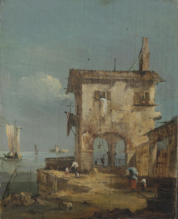 , 'Capriccio of a rustic house near a lagoon,' , Christie's Old Masters