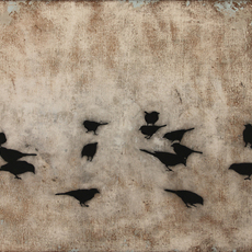, 'Blackbirds II,' ca. 2014, Chase Young Gallery