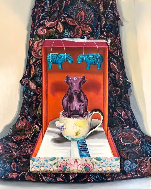 , 'She'll Take the Purple Cow,' 2018, First Street Gallery