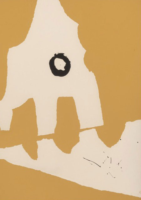 Robert Motherwell, 'Ten Works by Ten Painters: Untitled, from X + X 1964', 1964, Kings Wood Art