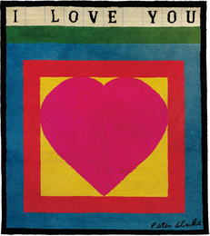 Peter Blake, 'I Love You,' 1983, Phillips: Evening and Day Editions