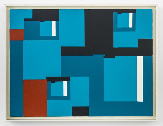 Nassos Daphnis, '9-A-92', 1992, Richard Taittinger Gallery