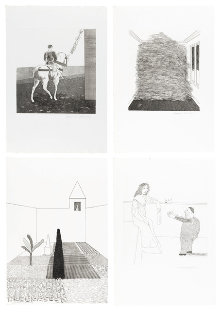 David Hockney, 'Illustrations for Six Fairy Tales from the Brothers Grimm', 1969-1970, Christie's