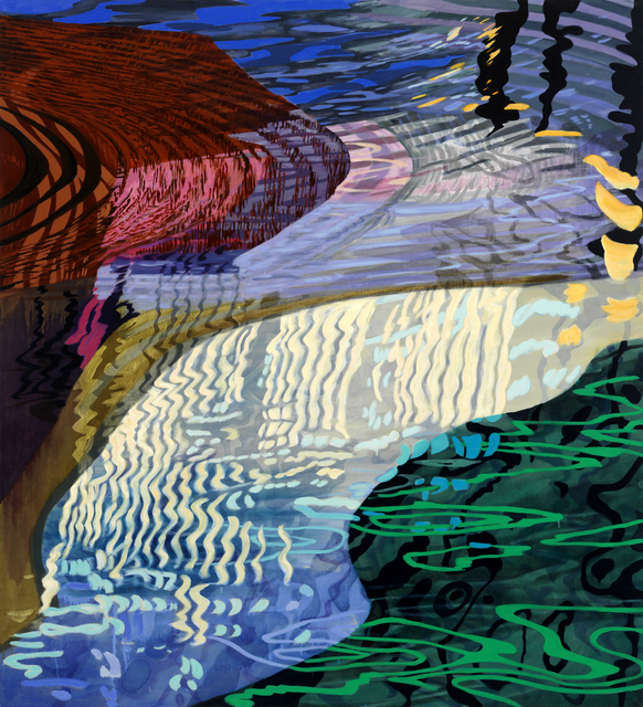 , 'White Rain,' 2016, Miller Yezerski Gallery