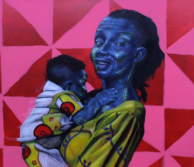 , 'Mother to Son (Torera and Kikiogoluwa),' 2018, Conduit Gallery