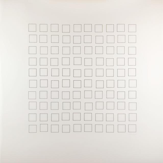 """, 'du cycle """"Errance entre ordre et Chaos"""",' 1975, ONIRIS - Florent Paumelle"""