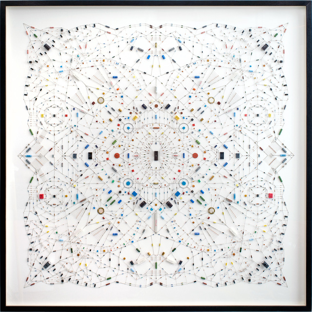 , 'Technological Mandala 28,' 2013, Beers London