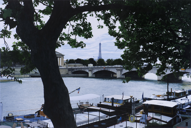 Christian Marsh, 'View Across the Seine, Paris', Plus One Gallery