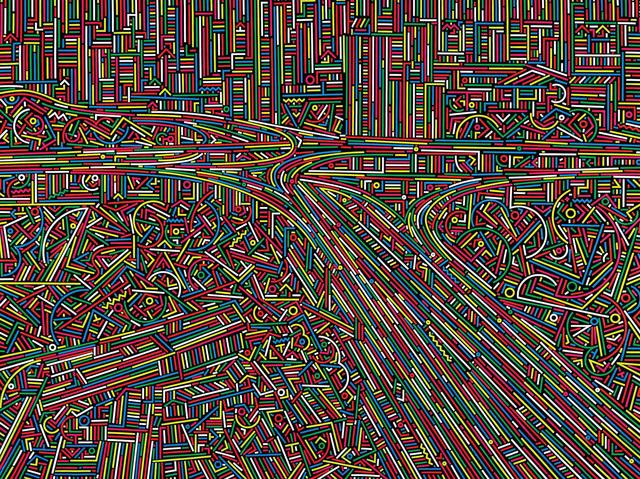 , 'City Stream No.6,' 2014, ART LABOR Gallery