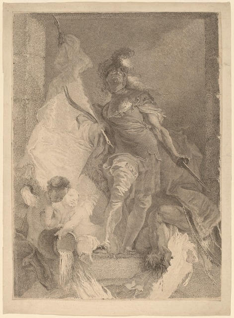 Johann Beheim after Franz Anton Maulbertsch, 'Saint Florian', ca. 1765, National Gallery of Art, Washington, D.C.