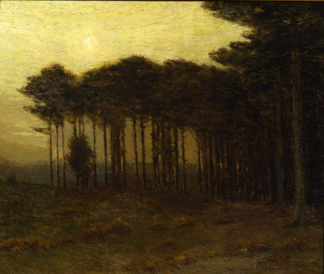 , 'The Strip of Pines,' 1908, Montclair Art Museum