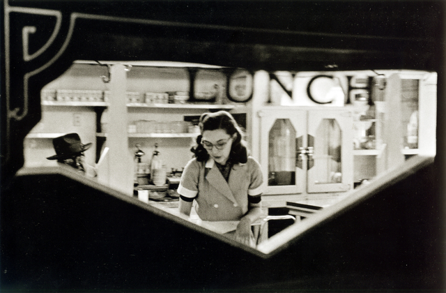 , 'Lunch counter, Chicago, Illinois,' 1952, Bruce Silverstein Gallery