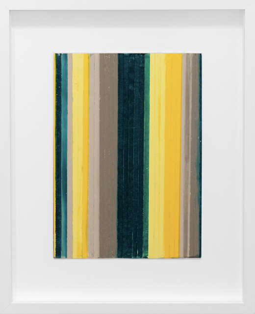 , 'Color Study, Yellow/Green 2,' 2014, Newzones