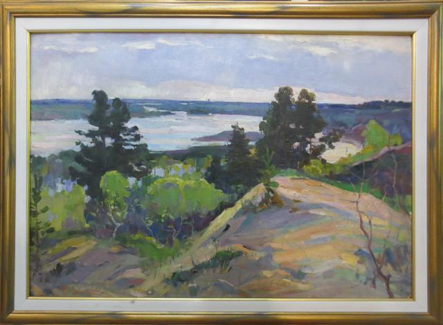 Mikhail Mitrofanovich Yesin, 'Landscape', 1950-1975, OYANU Gallery