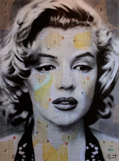 , 'Marilyn ,' 2015, Galerie de Bellefeuille