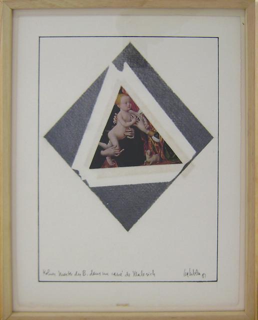 , 'Kolner master dens le carré de Malévitch,' 1981, espaivisor - Galería Visor
