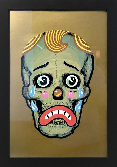 , 'Sad Skull,' 2018, La Luz de Jesus Gallery