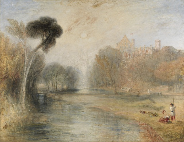 J. M. W. Turner, 'Schloss Rosenau, Coburg', 1841-1844, Yale Center for British Art