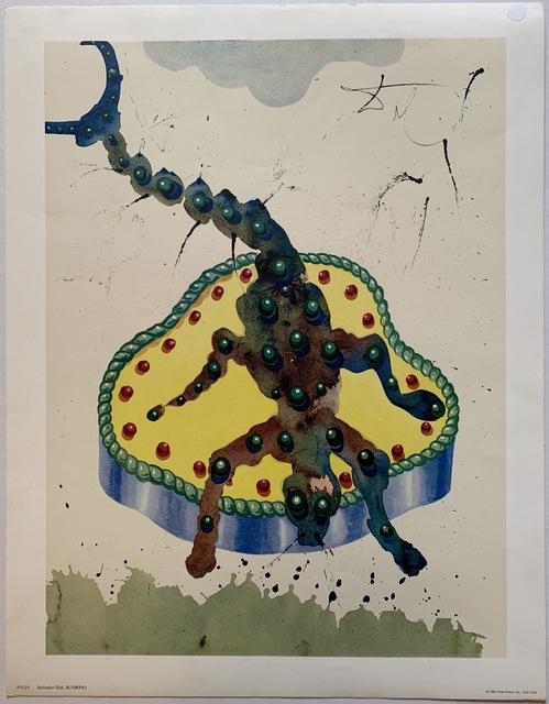 Salvador Dalí, 'Scorpio', 1969, Puccio Fine Art