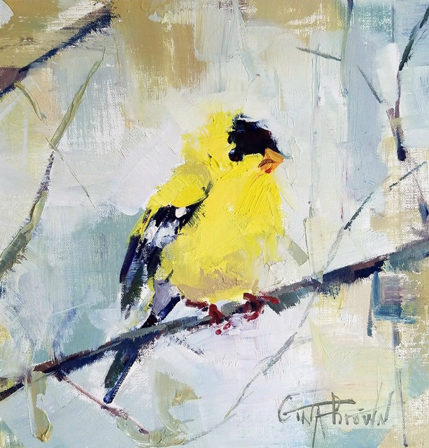 Gina Brown, 'Golden Finch', 2018, Shain Gallery