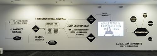 , 'Chiara Fumai reads Valerie Solanas,' 2013, Rosa.Santos
