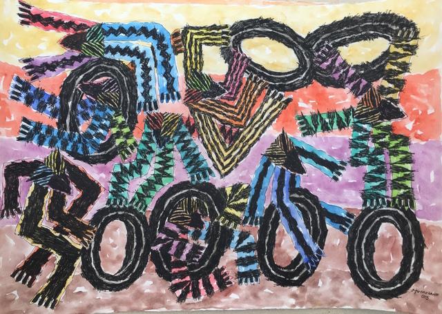, 'Brincadeira com pneus,' 2015, Galeria 111