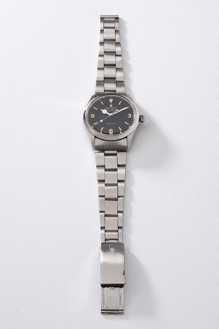Rolex, 'A fine stainless steel wristwatch with sweep center seconds, bracelet, guarantee and presentation box', Circa 1970, Phillips
