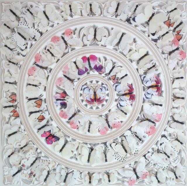Bali Love Jenkins, 'Le Papillon I', 2021, Sculpture, Board, Plastic & Mixed Media, Alessandro Berni Gallery