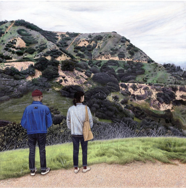 , 'Griffith Park Hiking,' 2018, Steve Turner