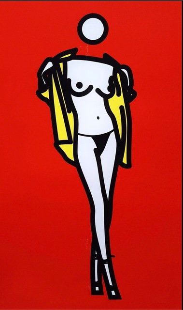 Julian Opie, 'Woman taking off man's shirt', 2003, Kunzt Gallery