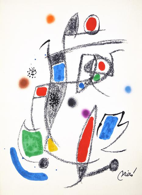Joan Miró, 'Maravilla 10', 1975, Hans den Hollander Prints
