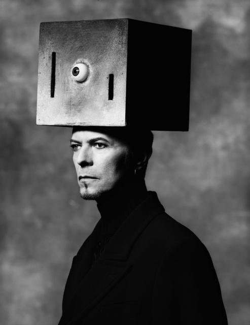 Albert Watson, 'David Bowie (Box on Head)', 1996, CAMERA WORK
