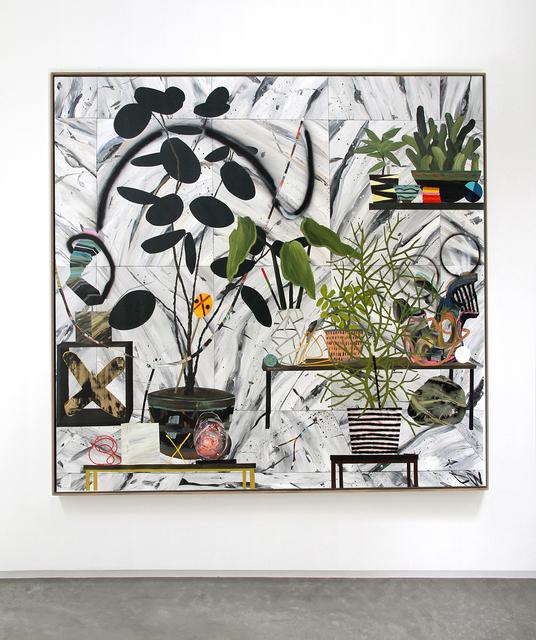 , 'Self reflection is a strange plant,' 2014, Alice