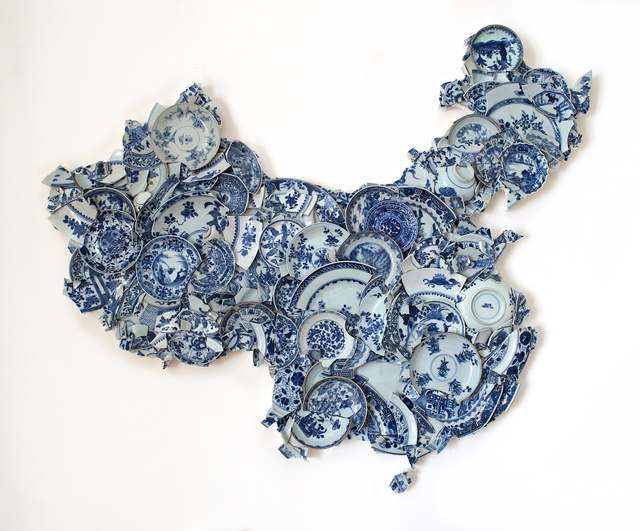 , 'Map of china of China,' 2017, Kristin Hjellegjerde Gallery