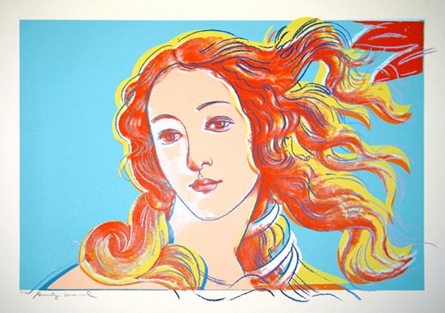 Andy Warhol, 'Details of Renaissance Paintings, Sandra Botticelli Birth of Venus, 1482', 1984, Woodward Gallery