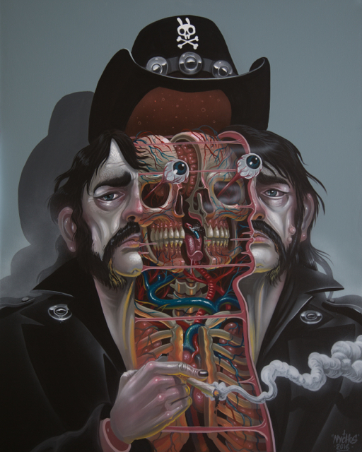NYCHOS, 'Dissection of Lemmy', 2016, ArtLife Gallery