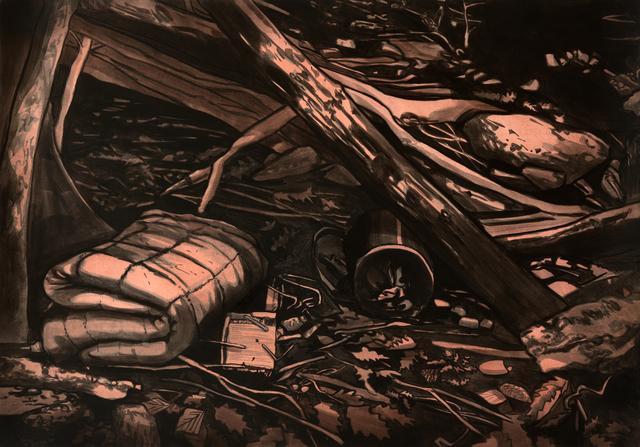 Sebastian Nebe, 'Nachtlager', 2013, Galerie Kleindienst