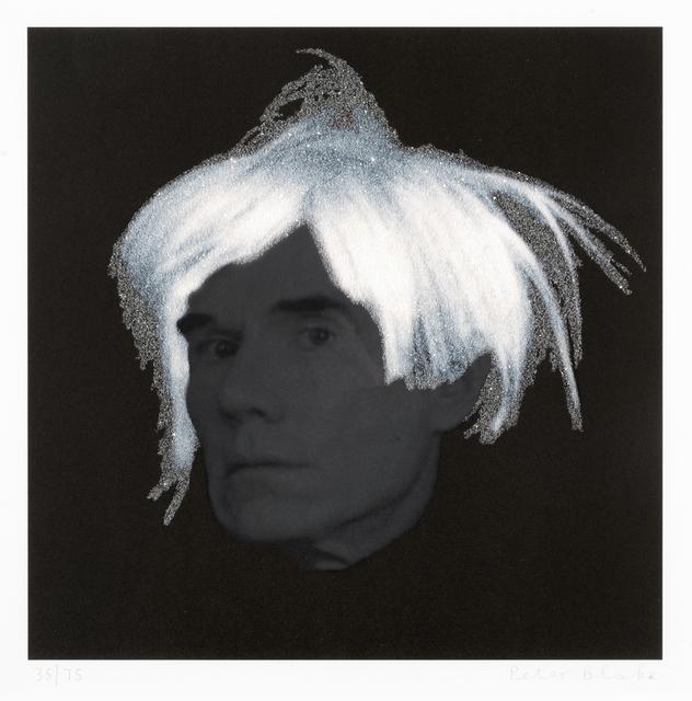 Peter Blake, 'Andy Warhol', 2010, Tate Ward Auctions