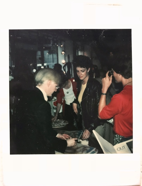 Andy Warhol, 'Polaroid portrait of the artist plus Interview Magazine with drawings signed.', 1979, MultiplesInc Projects