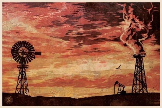 Shepard Fairey (OBEY), 'evolve devolve silk screen', 2008, Rudolf Budja Gallery