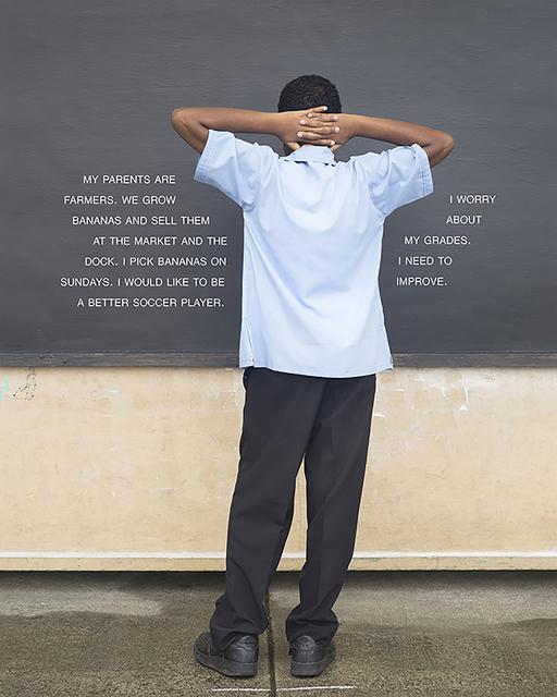 Judy Gelles, 'Fourth Grade - To Improve (St. Lucia: Public School)', 2015, Pentimenti Gallery