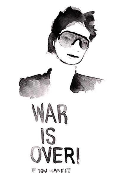 Dale Dreiling, 'Yoko Ono', 2010, Subliminal Projects