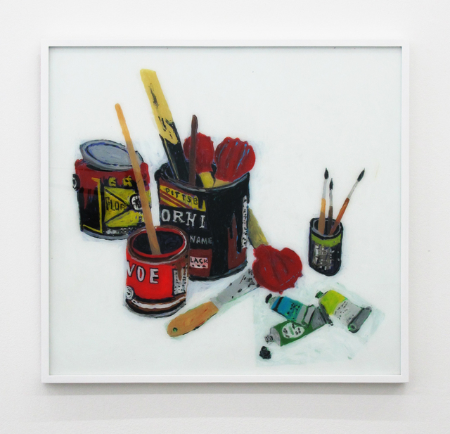 , 'Still Life With Paint Tubes And Spatular,' 2016, V1 Gallery