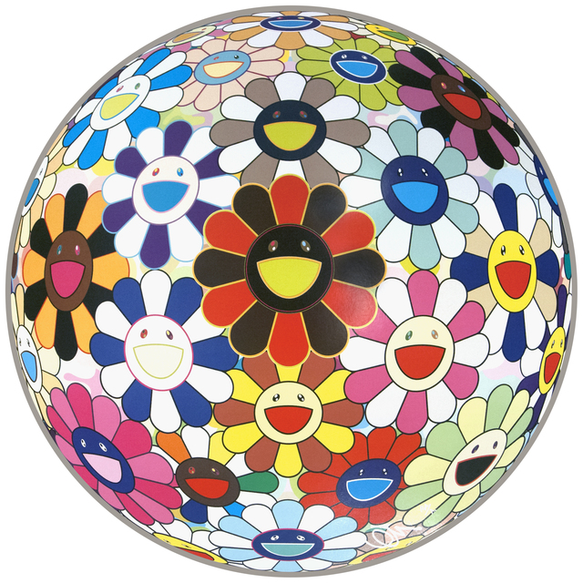 Takashi Murakami, 'flower ball (lots of colors)', 2013, Mixer