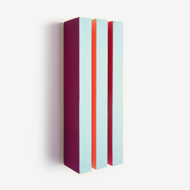 Adam Frezza & Terri Chiao, '5 Lines', 2020, Sculpture, Acrylic paint on wood, Uprise Art