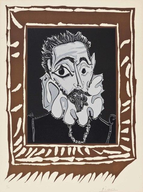 Pablo Picasso, 'L'homme à la fraise', 1963, Print, Linocut in colors, on Arches paper, Christie's