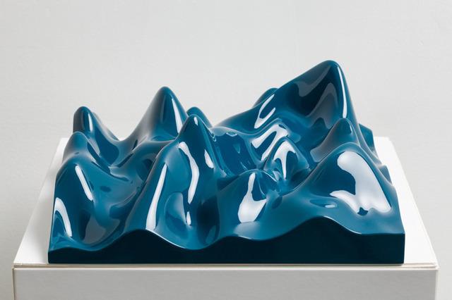 Peter Saville, 'Unknown Pleasure, Ocean Blue', 2012, Paul Stolper Gallery