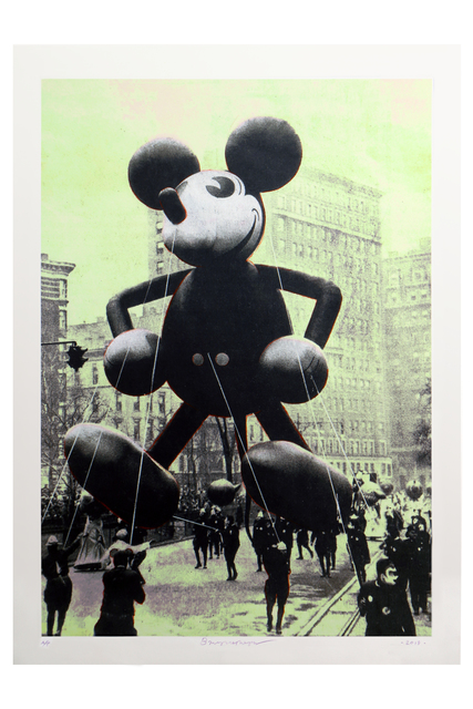 , 'Macy's Mickey Mouse, Ca. 1934,' 2018, Paul Fisher Gallery