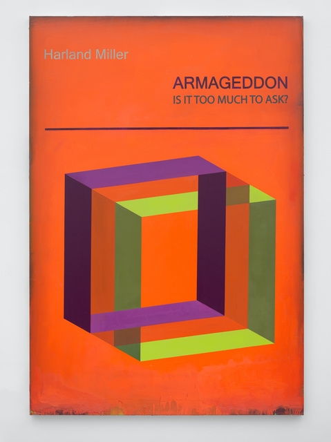 , 'Armageddon is it Too Much to Ask,' 2017, White Cube