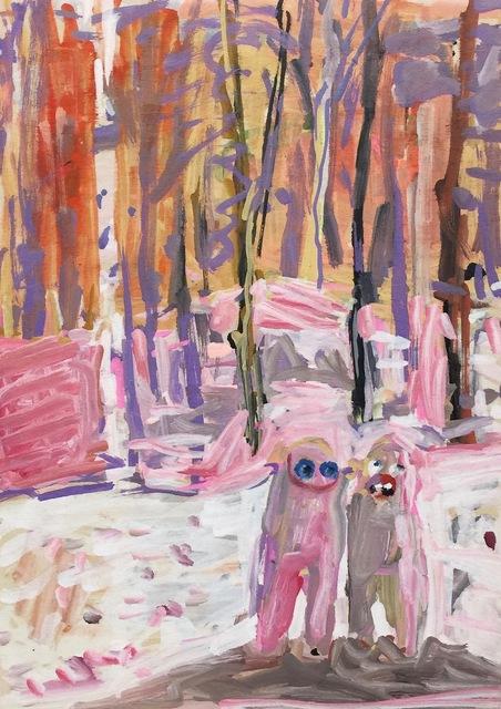 , 'Snowbound Hug,' 2017, HATHAWAY | Contemporary Gallery